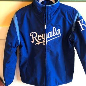 Majestic KC Royals Women's thermal jacket Large